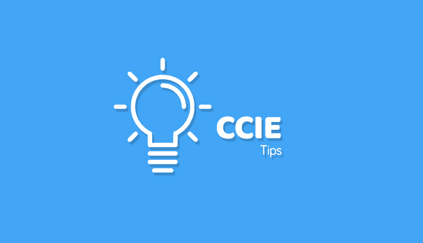 CCIE-tips